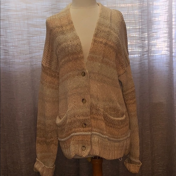 Wilfred Free button up cardigan size large